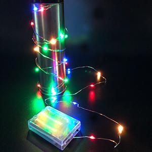 3M*30燈LED銅絲燈(彩色/粉白色) 1