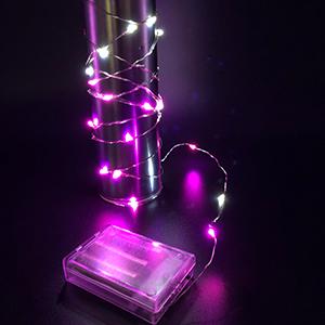 3M*30燈LED銅絲燈(彩色/粉白色) 2